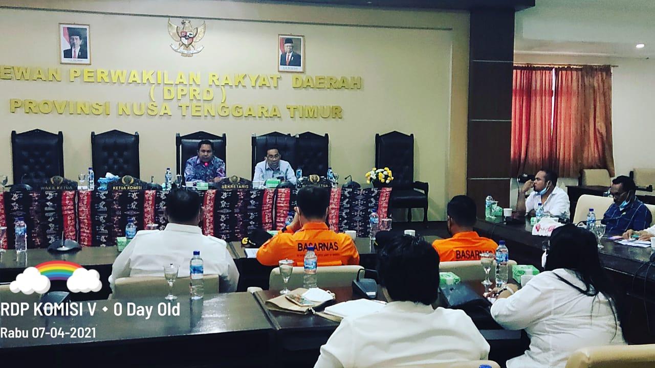 Ketua Komisi V DPRD NTT Bersama Mitra Terkait