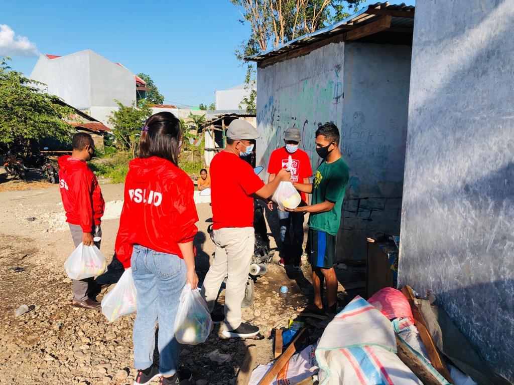 Aksi Nyata DPW PSI NTT di Lokasi Banjir